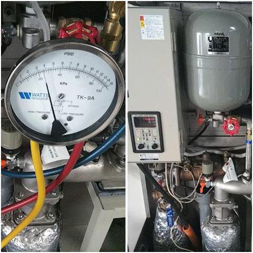 増圧給水ユニット作業